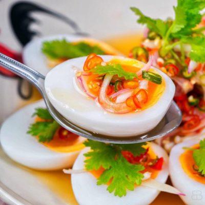 Закуска из яиц по тайски